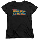 Womens: Back To The Future - Logo T-shirts