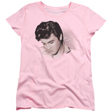 Womens: Elvis Presley - Looking Down Shirt