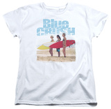 Womens: Blue Crush - 3 Boards T-shirts