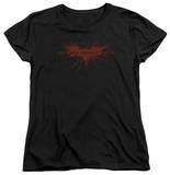 Womens: Dark Knight Rises - Distressed Bat Shirt
