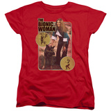 Womens: Bionic Woman - Jamie And Max T-shirts