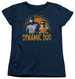Womens: Batman Classic TV - Dynamic T-Shirt