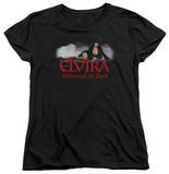 Womens: Elvira - Dark Mistress T-shirts
