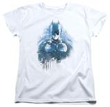 Womens: Dark Knight Rises - Spray Bat T-Shirt