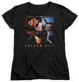 Womens: Batman Arkham City - Escape Is Impossible T-shirts