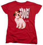 Womens: Frasier - Eddie T-shirts