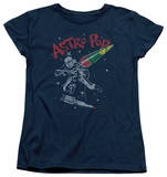 Womens: Astro Pop - Space Joust T-shirts