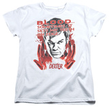 Womens: Dexter - Blood T-Shirt