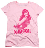 Womens: Bettie Page - You'll Put Eyes Out T-shirts