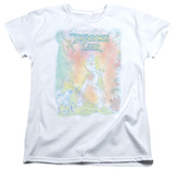 Womens: Dragon's Lair - Poster Pencils T-Shirt