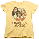Womens: Charlie's Angels - Retro Girls T-Shirt
