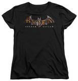 Womens: Batman Arkham Asylum - Arkham Asylum Logo Shirts