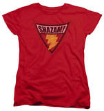 Womens: Batman The Brave and the Bold - Shazam Shield T-shirts