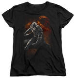 Womens: Dark Knight Rises - Grungy Knight T-Shirt