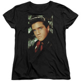 Womens: Elvis Presley - Red Scarf T-shirts
