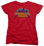 Womens: Charlie's Angels - Faded Logo T-Shirt