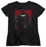 Womens: Dark Knight Rises - Bat Lines T-Shirt