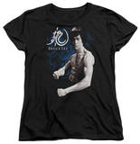 Womens: Bruce Lee - Dragon Stance T-shirts