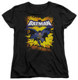 Womens: Batman The Brave and the Bold - Rooftop Leap T-Shirt