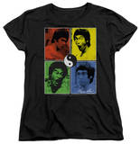Womens: Bruce Lee - Enter Color Block Shirt