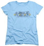 Womens: Amazing Race - In The Clouds T-shirts