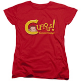 Womens: Curious George - Curious T-shirts