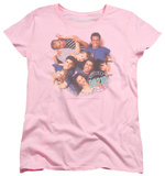Womens: Beverly Hills 90210 - Gang In Logo Shirts