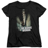 Womens: Bionic Woman - Motion Blur T-Shirt