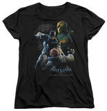 Womens: Batman Arkham Origins - Punch T-shirts
