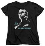 Womens: Eureka - Leadership Poster T-Shirt
