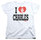 Womens: Charles In Charge - I Heart Charles Shirt