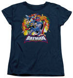 Womens: Batman The Brave and the Bold - Explosive Heroes Shirts