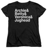 Womens: Archie Comics - Ampersand List T-shirts