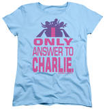 Womens: Charlie's Angels - Answer T-shirts