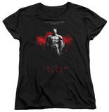 Womens: Batman Arkham City - Standing Strong Shirt