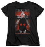 Womens: Batman Arkham City - Obey Order Poster T-Shirt