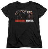 Womens: Criminal Minds - The Brain Trust T-shirts