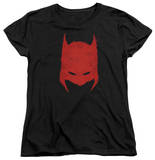 Womens: Batman - Hacked & Scratched T-shirts