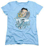 Womens: Betty Boop - I Believe In Angels T-shirts