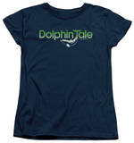 Womens: Dolphin Tale - Fade Out Shirts