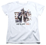 Womens: Batman Arkham City - We Want You T-shirts