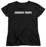 Womens: Criminal Minds - Logo T-shirts