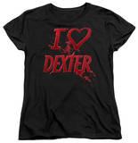 Womens: Dexter - I Heart Dexter Shirts