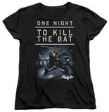 Womens: Batman Arkham Origins - One Night T-shirts