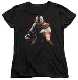 Womens: Dark Knight Rises - Bane Battleground T-shirts