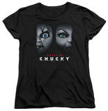 Womens: Bride Of Chucky - Happy Couple Shirt
