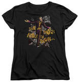 Womens: Batman Arkham City - About To Begin T-shirts