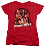 Womens: Criminal Minds - Brain Trust T-shirts