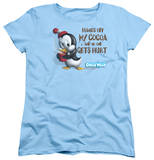 Womens: Chilly Willy - Hands Off T-shirts