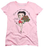 Womens: Betty Boop - Mother Is Sweet T-shirts